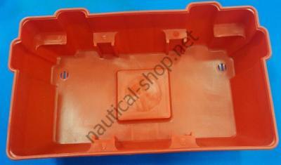 Ящик аккумуляторный до 100 А, крышка с отверстиями для вентиляции и проводов, 14.546.01