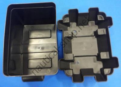 Ящик аккумуляторный серии 24М на высоту до 258 мм, Osculati 14.546.00