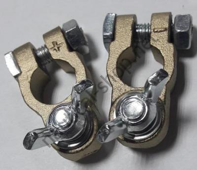 Клеммы аккумуляторные бронзовые (пара), 14.386.00