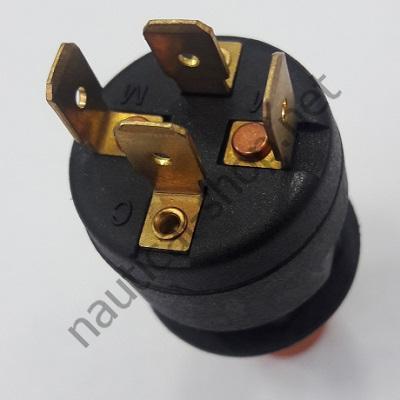 Стоп-выключатель для лодочного мотора, вид сзади, клеммы, 14.204.96