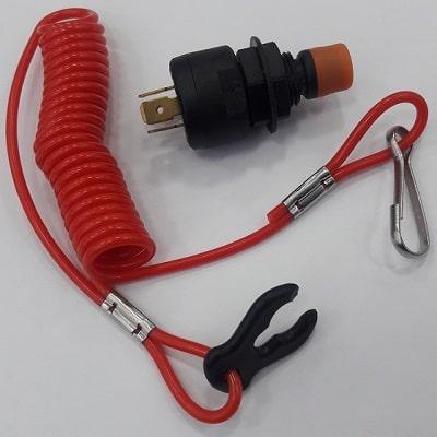 Стоп-выключатель в комплекте с чекой, 14.204.96