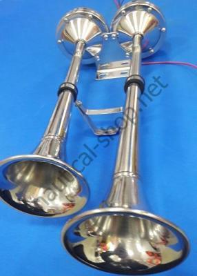 Горн с мембраной электрический, труба двойная, 21.452.04