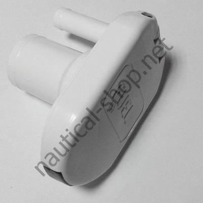 Горловина топливная, пластиковая белая с вентиляционным штуцером, 38 мм, 20.670.01
